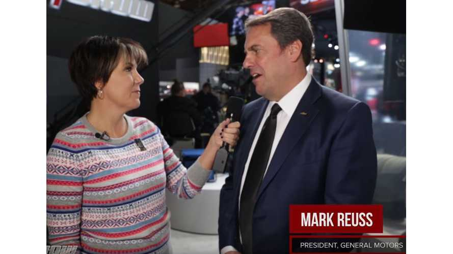 GM President Discusses Chevrolet Bolt EV, Charging Infrastructure + More (Video)
