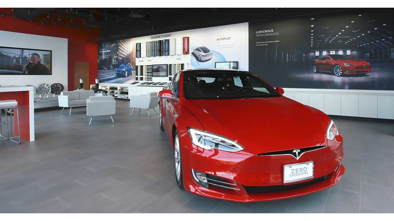 tesla retail boutique dealership georgia model s