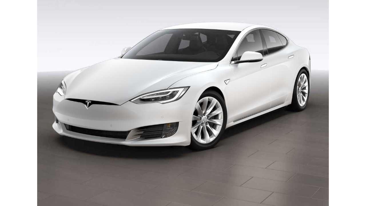 Newly Designed Tesla Model S