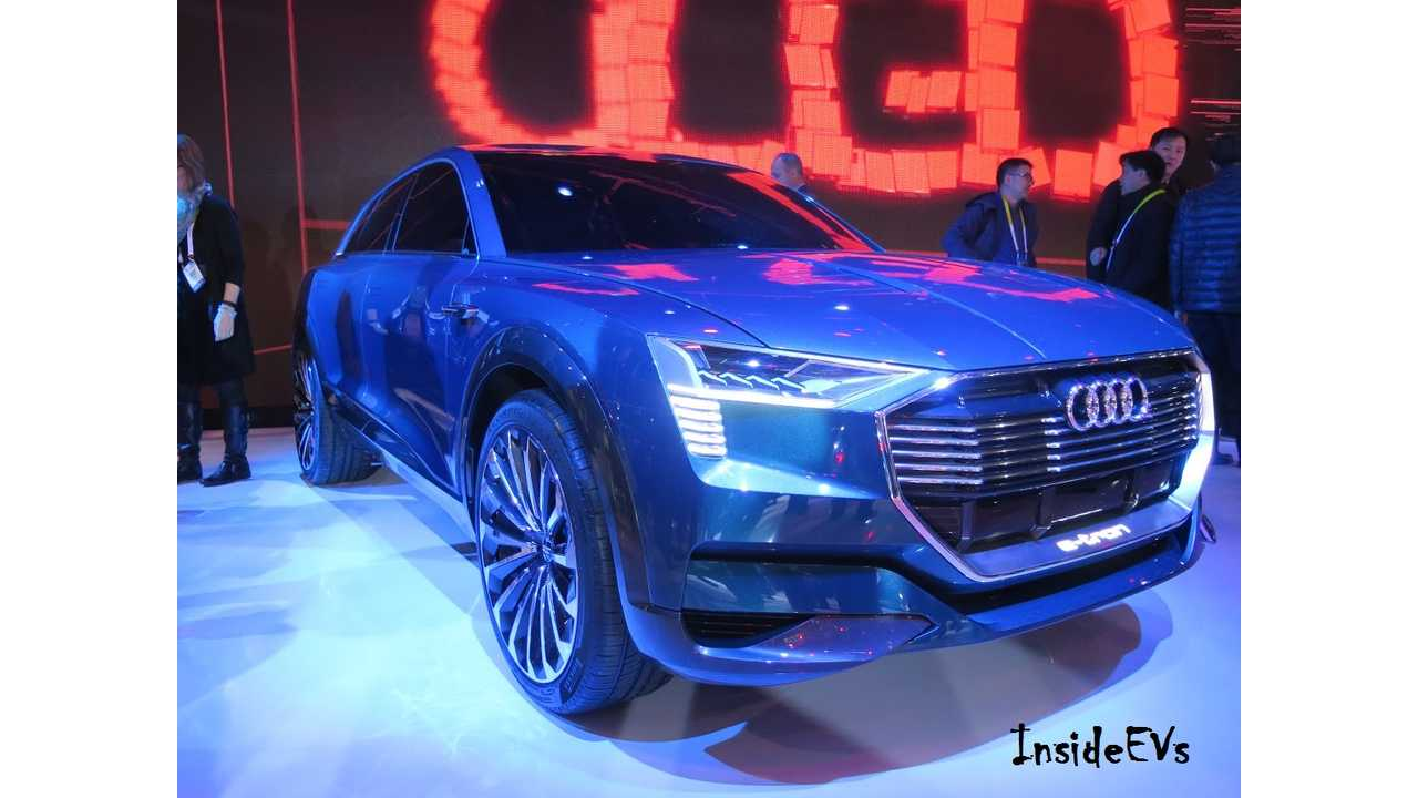 Audi Opens Reservations For 310 Mile E-Tron Quattro, Arrives 2018