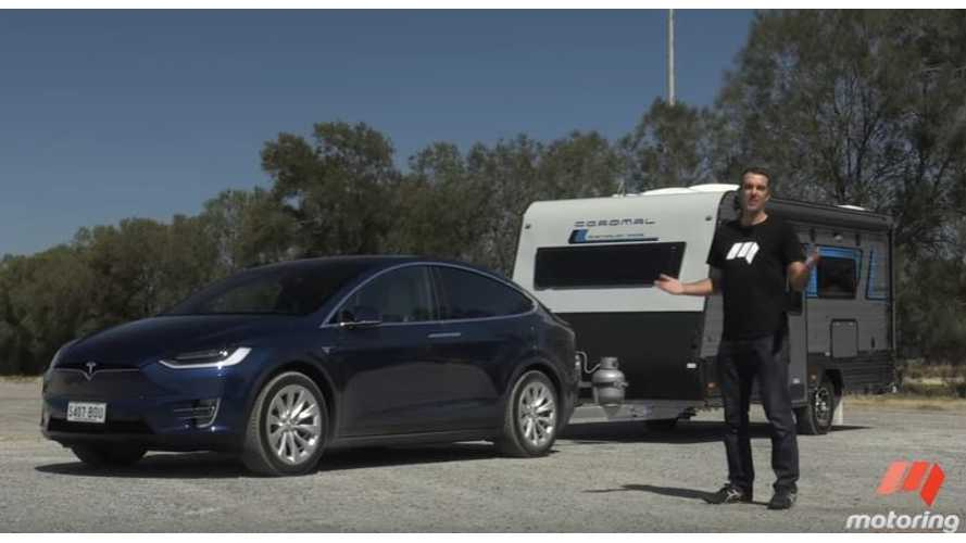 Tesla Model X Towing Test - Video