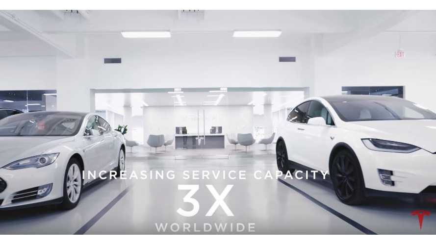 Tesla's Latest Video Focuses On Service-Side Improvements Ahead Of Model 3 Deliveries