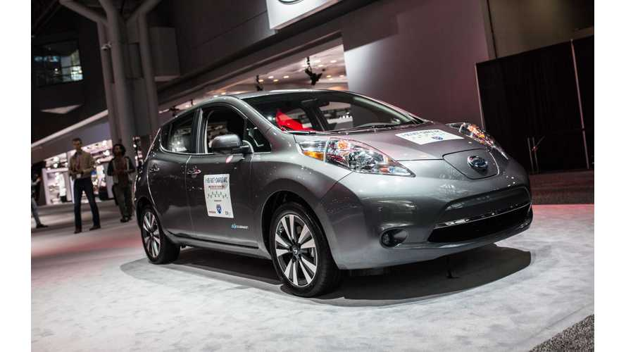 Nissan, EVgo To Build 'I-95 Fast-Charge ARC' Between Boston, Washington D.C.