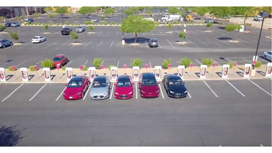 Learn All About These Tesla Owners' Epic Las Vegas Road Trip