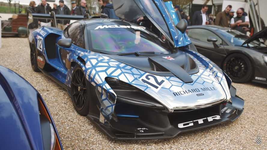 McLaren gives video tour of the Senna GTR prototype