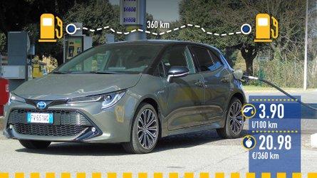 Toyota Corolla Hybride, le test de consommation réelle