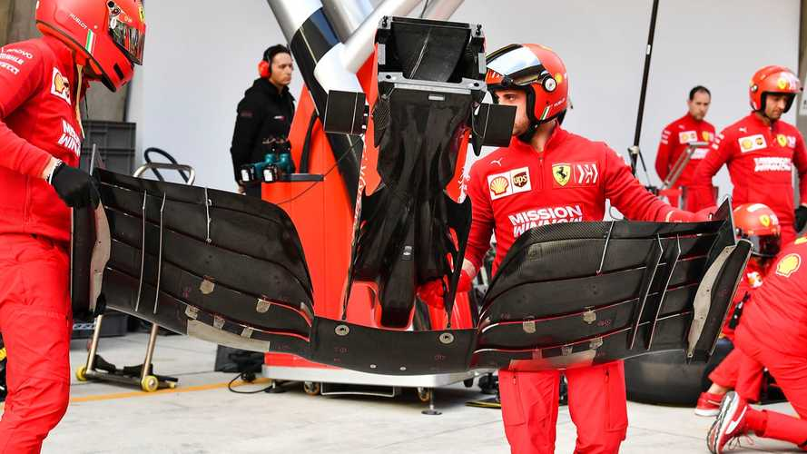 Formula 1, Ferrari: l'ala anteriore della SF90 è