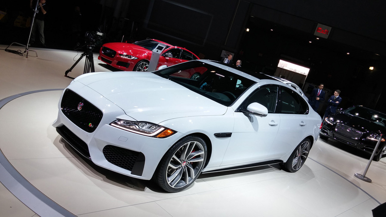 Nuova Jaguar XF al Salone di New York 2015
