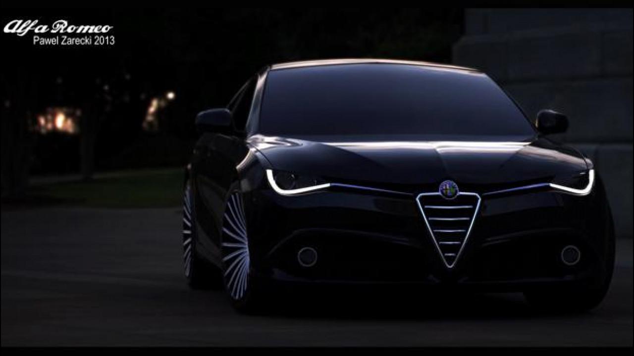 [Copertina] - Alfa Romeo Giulia, cominciamo ad immaginarla