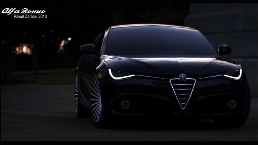 Alfa Romeo Giulia, cominciamo ad immaginarla