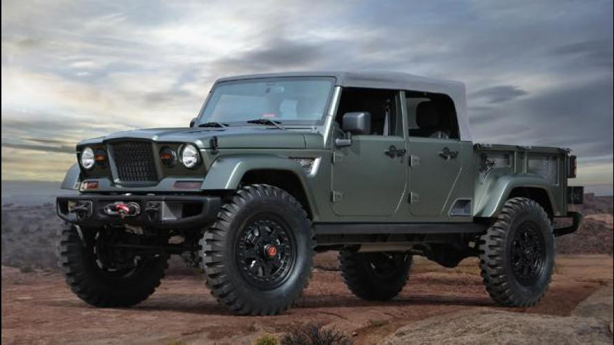 Jeep, tutto il vintage delle concept per l'Easter Safari