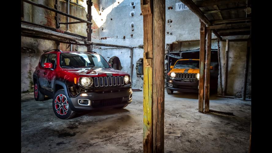 Jeep Renegade rende omaggio alla musica