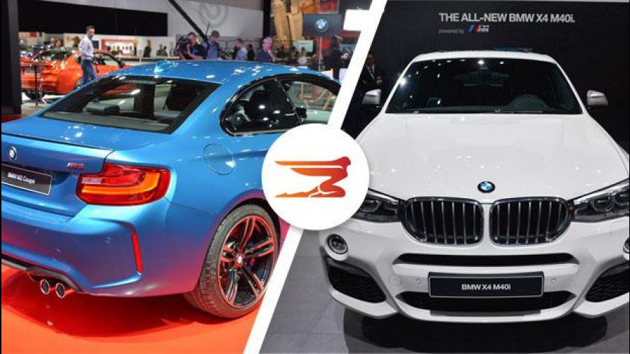 BMW M2 e X4 M40i, a Detroit per i 40 anni [VIDEO]