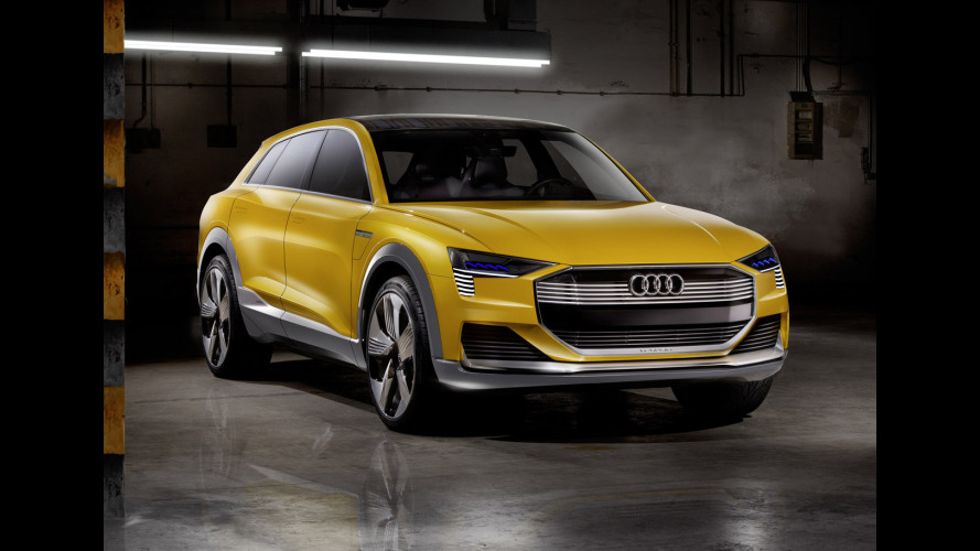 Audi h-tron quattro concept, il SUV a idrogeno