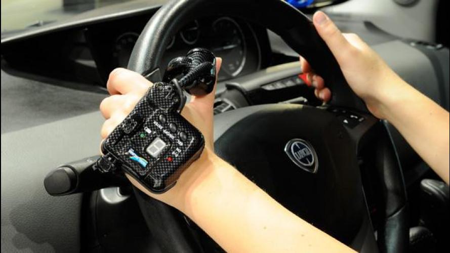 Sulla nuova Lancia Ypsilon Programma Autonomy l'acceleratore è satellitare wireless