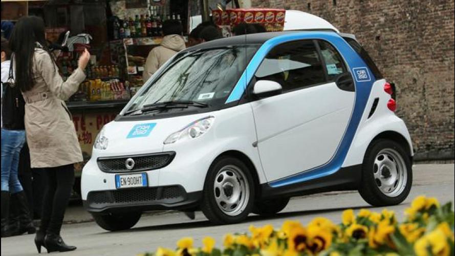 Car sharing: il car2go di smart arriva a Roma prima di Pasqua