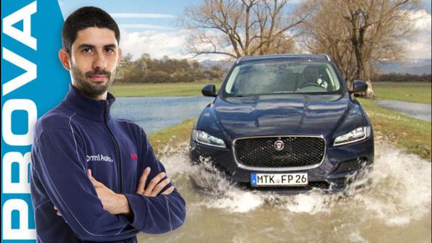 Jaguar F-Pace, non perde mai il ritmo [VIDEO]