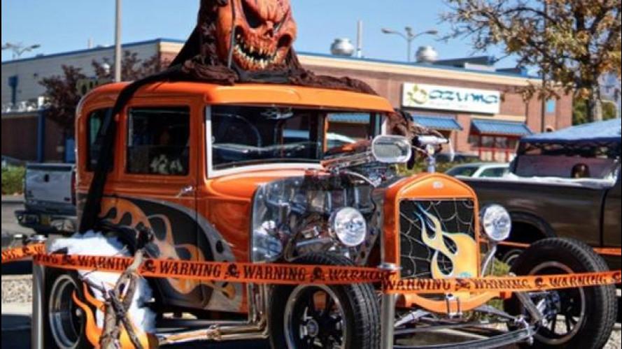 Le auto di Halloween più strane del mondo