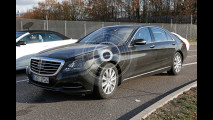 Mercedes Classe S restyling, le foto spia