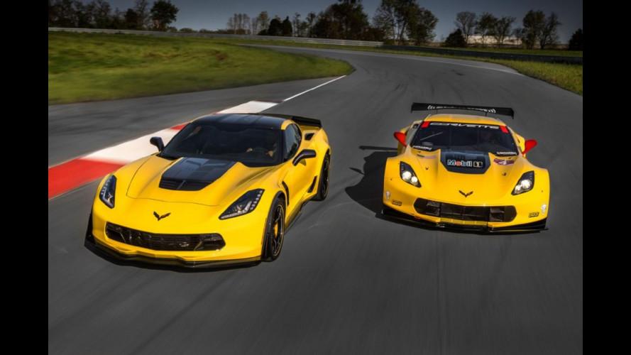 Chevrolet Corvette Z06 C7.R edition, omaggio alle corse