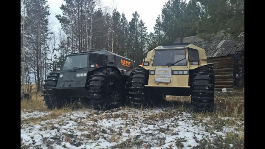 Sherp ATV, l'anfibio che non si ferma davanti a nulla