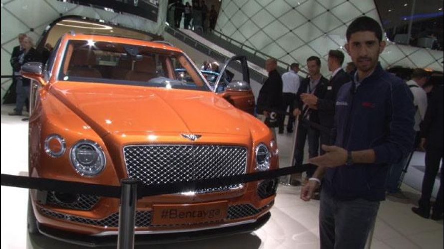 Salone di Francoforte: Bentley Bentayga, imperatore dei SUV [VIDEO]