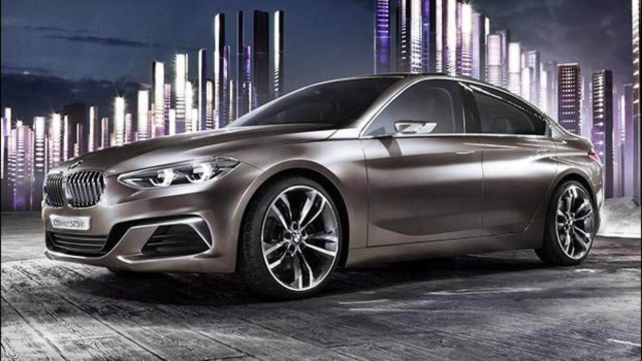 [Copertina] - BMW Concept Compact Sedan, la Serie 1 a quattro porte