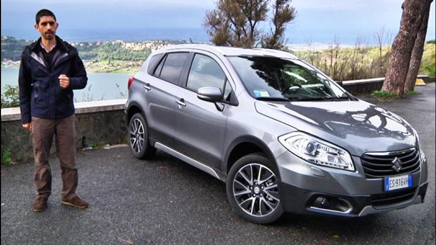 Suzuki SX4 S-Cross, prova su strada [VIDEO]