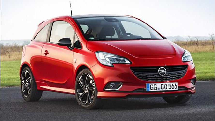 Opel Corsa 1.4 Turbo, 150 CV in incognito
