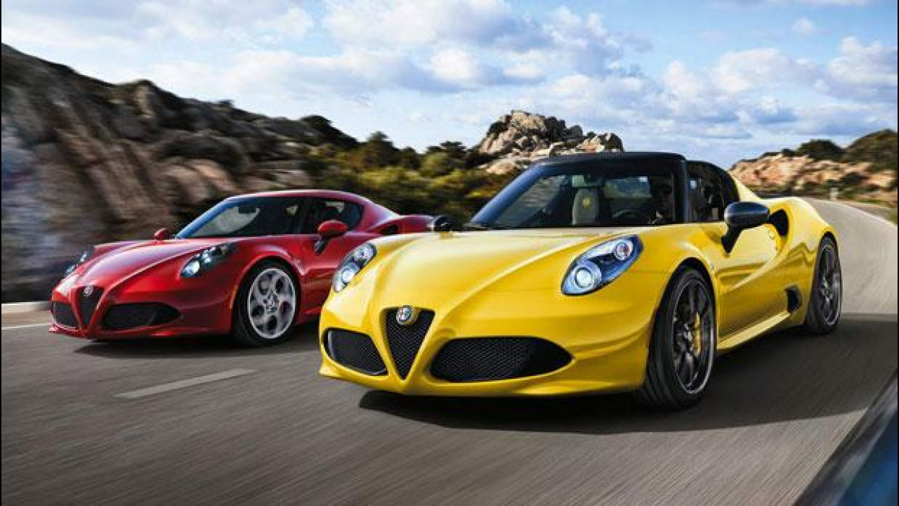 [Copertina] - Alfa Romeo 4C, meglio berlinetta o Spider?