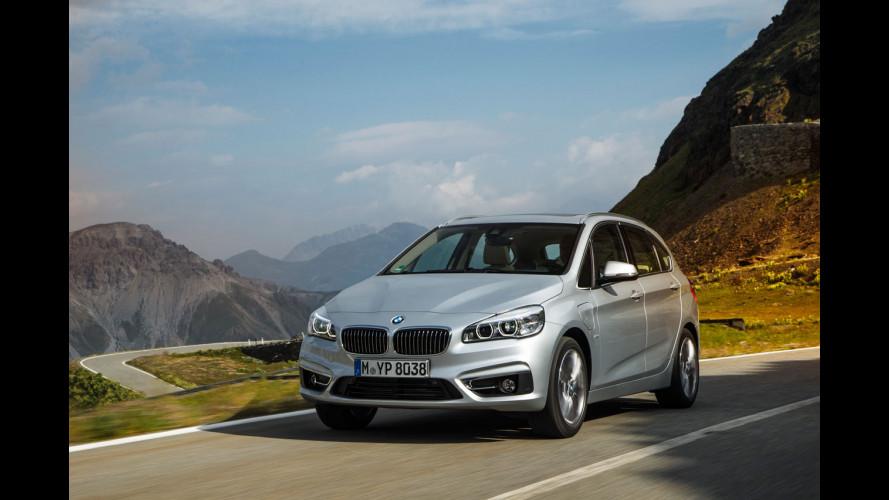 BMW 225xe, ibrida integrale alla bavarese