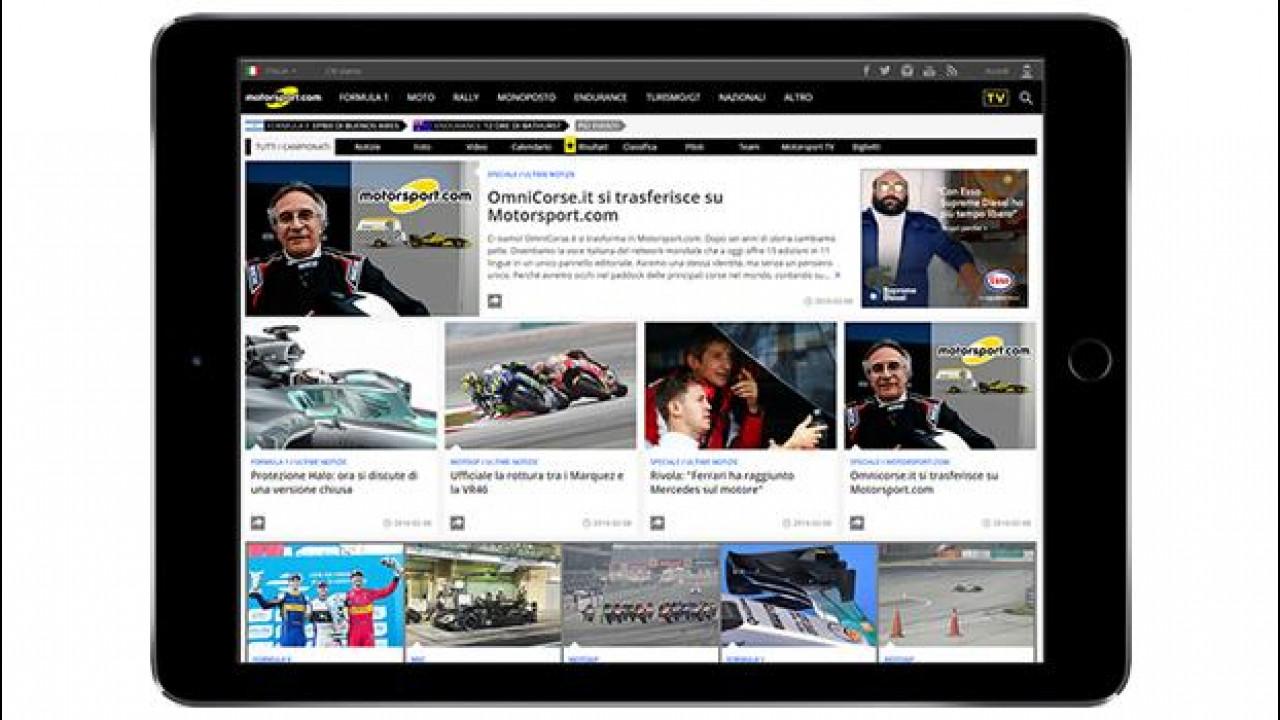 [Copertina] - E' online Motorsport.com Italia
