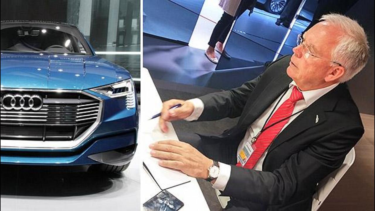 [Copertina] - Salone di Francoforte, Audi e il futuro elettrico secondo Ullrich Hackenberg