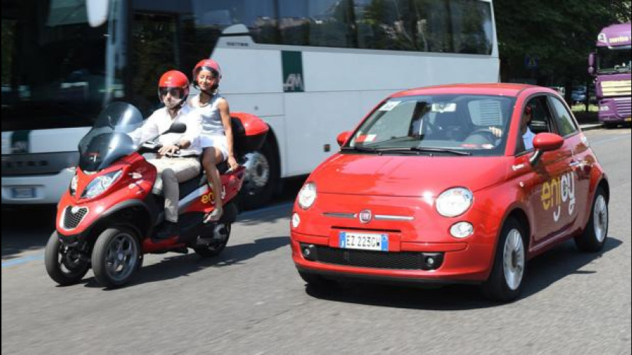 [Copertina] - Enjoy di ENI lancia lo scooter sharing a Milano