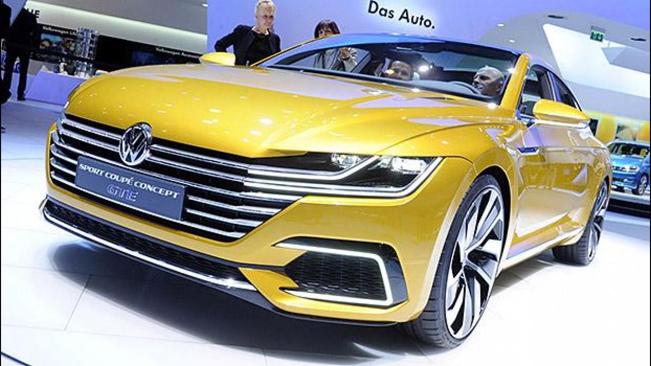 [Copertina] - Salone di Ginevra: Volkswagen un po' coupé e molto Passat