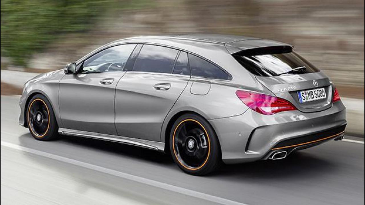[Copertina] - Mercedes CLA Shooting Brake, su strada con la coupé a coda lunga