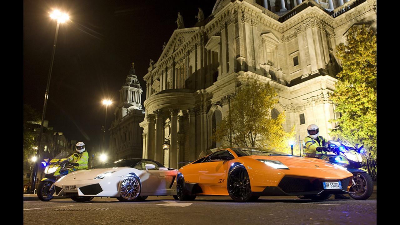 Lamborghini alla serata di gala per il Calendario Pirelli 2010