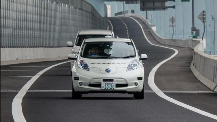Nissan, la prima guida autonoma in autostrada [VIDEO]