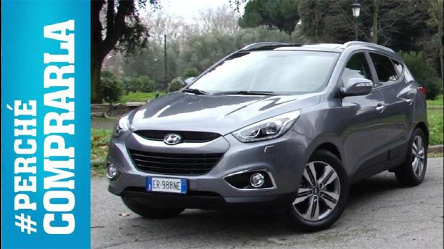 Hyundai ix35, perché comprarla... e perché no [VIDEO]