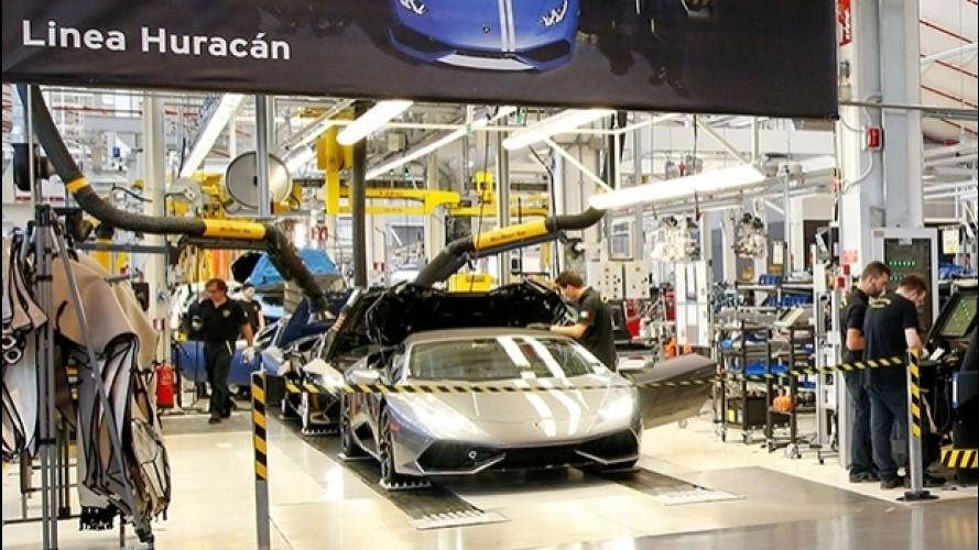 Lamborghini, 200 nuovi posti di lavoro