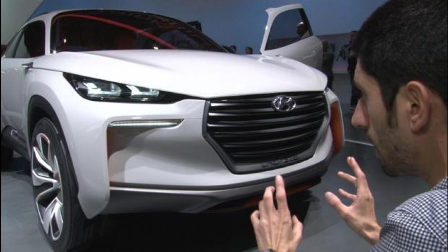 Hyundai Intrado, il SUV più cattivo del Salone di Ginevra