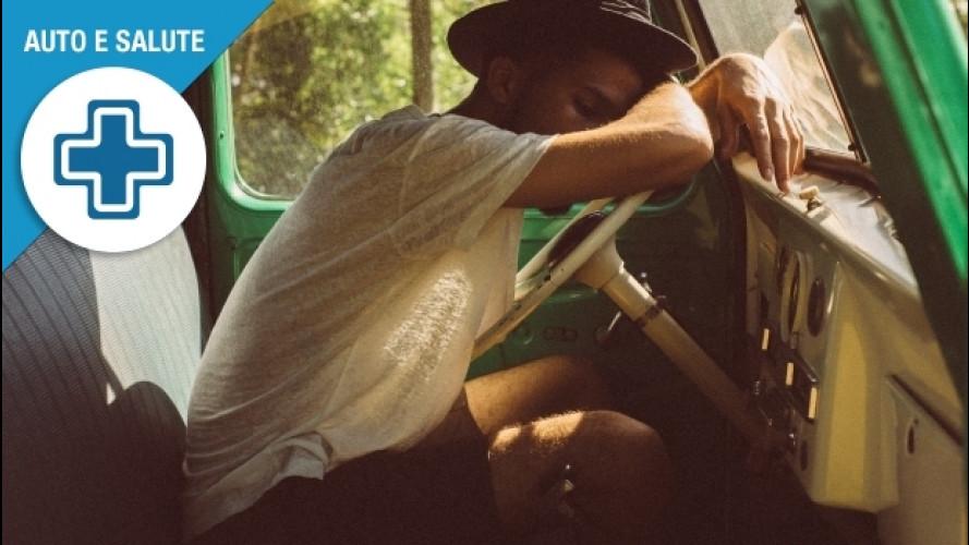 Colpo di sonno in auto, le 3 cose da sapere