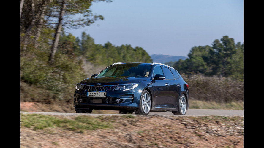Kia Optima Sportswagon, la familiare media coreana