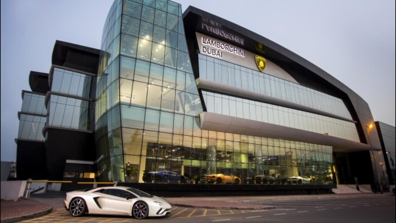 [Copertina] - Bugatti e Lamborghini, aperti i concessionari più grandi del mondo