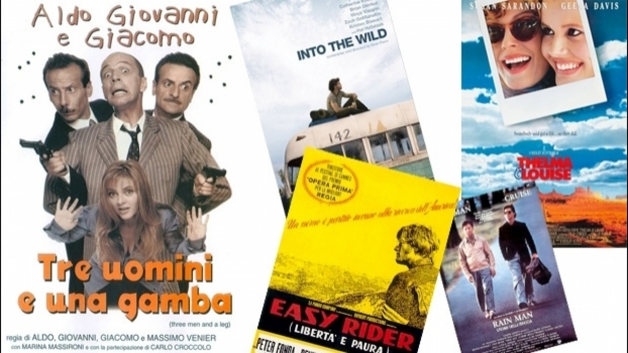 [Copertina] - Festival di Cannes? No grazie, ecco i road movie preferiti dagli italiani