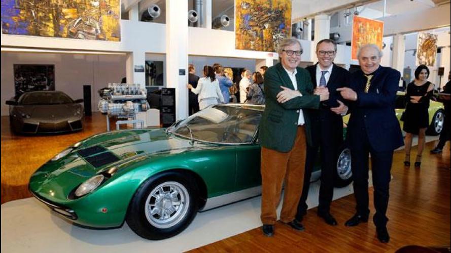 """Lamborghini in mostra con """"Velocità e Colore"""""""