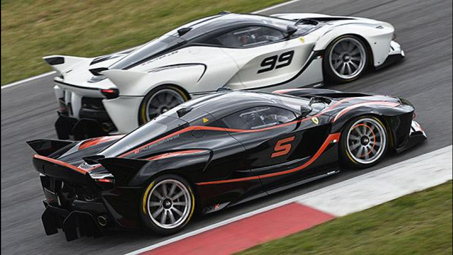 Ferrari XX ed F1 Clienti, spettacolo al Mugello