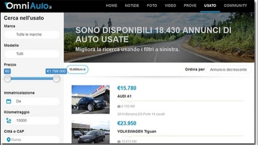 Mercato auto usate, il web tira forte