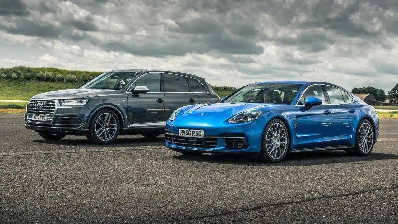Diesel Duel: Audi SQ7 Versus Porsche Panamera 4S In Drag Race