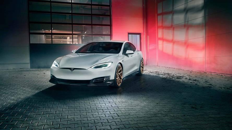 Tesla Model S par Novitec - Plus attirante que jamais